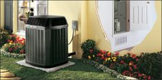Air conditioners and heat pumps will often look identical in design, foot print, etc. As with normal split system air conditioning above, a heat pump can be used instead of an air conditioning unit to keep homes comfortable all year long.During the summer months, a heat pump draws heat out of your home to cool it.