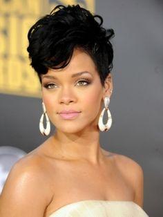 Rihanna...short hair