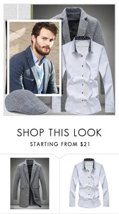 """""""Rosegal 85/ III"""" by emina-095 ❤ liked on Polyvore featuring men's fashion, menswear, polyvoreeditorial and rosegal"""