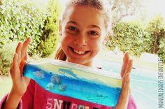 ¿Quién no quisiera tener el mar en una botella? ¡SEGURO QUE VOSOTROS SÍ! Y aquí te enseñamos cómo lograrlo con esta actividad FABULOSA para cualquier niño. Es muy fácil de realizar y además también los niños aprenderán sobre las propiedades...