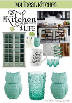 Ideas for the perfect kitchen - #bh #ad #refreshrestyle