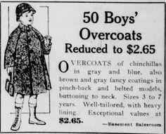 Boy's Overcoats - The Seattle star., January 05, 1917
