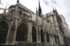 Trip to Paris 2012: Notre Dame de Paris outside