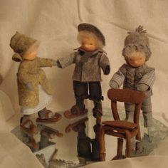 Poppenatelier Barbara: seizoenentafel winter
