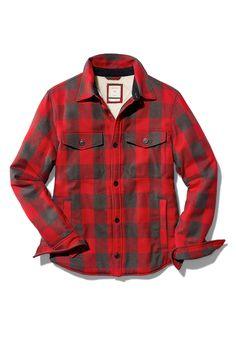 This Gap plaid shirt jacket is a perfect gift for the men on your list. With soft sherpa lining, this cozy shirt jacket is ideal for the coldest winter days. Browse Gap's gift guide for more helpful gift ideas.