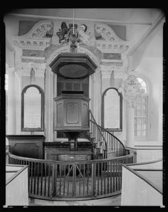Saint-James-Church-pulpit-Episocpal-Charleston-South-Carolina-Architecture-1938