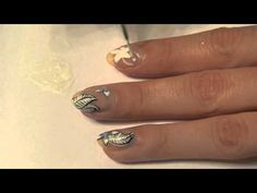 Intricate Floral Nail Art Tutorial