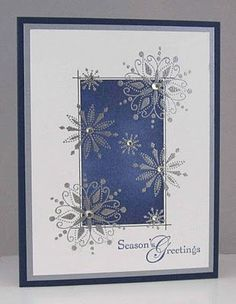 Christmas Cards   Card Making   Scrapbook Cards   Cards   Creative Scrapbooker Magazine #cardmaking #scrapbooking