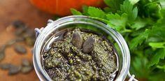Selbstgemachtes Kürbiskern Pesto Rezept