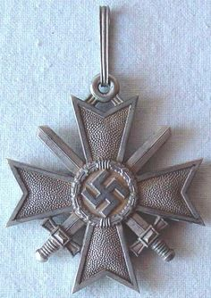 Extremely rare German WW2 Knights Cross of the War Merit Cross with swords