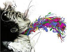 esta  frandiosa ilustracion fue creada por http://www.upsocl.com/creatividad/divertidas-ilustraciones-animadas-pelean-con-su-creador/  endonde expone una nueva perspectiva de las ilustraciones que transmiten