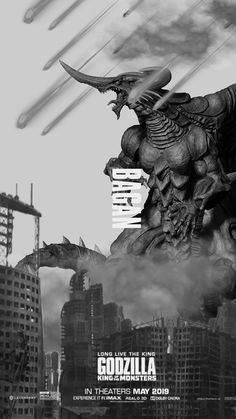 Godzilla King of the Monsters: Bagan All Godzilla Monsters, Godzilla 2, Scary Monsters, Godzilla Franchise, G Man, Japanese American, Xenomorph, Movie Wallpapers, King Kong