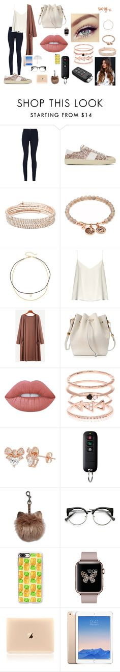 """Sem título #473"" by suandergoncalves on Polyvore featuring moda, Alice + Olivia, Yves Saint Laurent, Anne Klein, Chrysalis, Jules Smith, Raey, Sophie Hulme, Lime Crime e Accessorize"