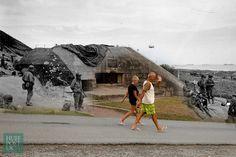 Los lugares del 'Día D', antes y ahora: 11 fotos que te impresionarán