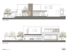 House Gallery / Dionne Arquitectos - 4 C . - Gallery of House / Dionne Arquitectos – 4 Gallery of House / Dionne Ar - Architecture Design Concept, Plans Architecture, Modern Architecture House, Amazing Architecture, Architecture Details, Architectural Section, Architectural Design House Plans, School Floor Plan, Public Library Design