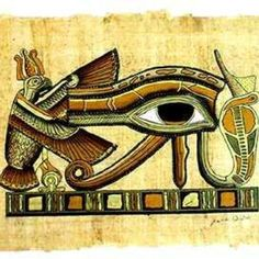 The eagle symbolizing instant travel in space & time, the all-seeing third eye, the uncurled kundalini energy flowing up the spine - not bad for insights into spiritual unfolding...