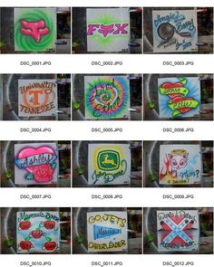 Some simple airbrush flash designs I do for tee shirts. Airbrush Designs, Airbrush Art, Airbrush Shirts, Flash Design, Lettering Ideas, Graffiti Alphabet, Some Pictures, Art Work, Shirt Designs