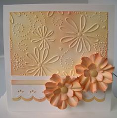 Julie's Inkspot: My First Card Making Workshop Love the coloring on this