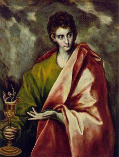 El Greco - Apostol San Juan Evangelista