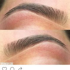 Perfect Eyebrows Made Easy With Semi Permanent Make Up Eyebrows Goals, Full Eyebrows, Eyebrows On Fleek, Perfect Eyebrow Shape, Perfect Brows, Red Lips Makeup Look, Makeup Looks, Natural Glowy Makeup, Eyebrow Shaper