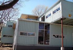 coolest shipping container home