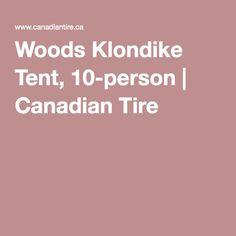 Woods Klondike Tent, 10-person | Canadian Tire