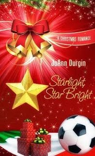 Starlight, Star Bright  by JoAnn Durgin  #StarlightStarBright   Dante Moretti, Texas-born goalie of an Italian World Cup champion team, expects Starlight, Iowa will be only a blip on the radar of his life. Grabbing a quick meal at Barney's Diner during the holidays, Dante meets two women who capture his heart in very different ways....  http://www.faithfulreads.com/2013/11/saturdays-christian-kindle-books-early_23.html