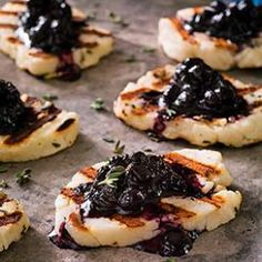 Halloumi, a firm Greek cheese, can be cooked on the grill or in a skillet without melting all over the place.