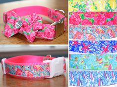 Hey, I found this really awesome Etsy listing at https://www.etsy.com/listing/262616882/lilly-inspired-dog-collar-bow-not