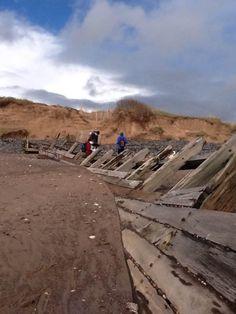 Groyne 6 at #DawlishWarren after the February 2014 storms. #Devon #GeographyTeacher pic.twitter.com/wBo1A8d9yk