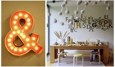 #ampersand #interior #letters