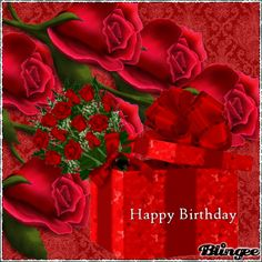 10 Happy Birthday Gifs With Beautiful Images Romantic Birthday Cards, Birthday Wishes For Love, Happy Birthday Niece, Happy Birthday Wishes Images, Happy Birthday Flower, Happy Birthday Beautiful, Happy Birthday Pictures, Happy Birthday Greeting Card, Birthday Wishes Cards