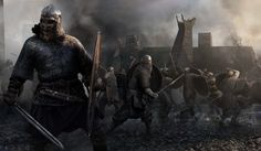 "ArtStation - ""Horsa"" - Total War: Attila"", Mariusz Kozik"