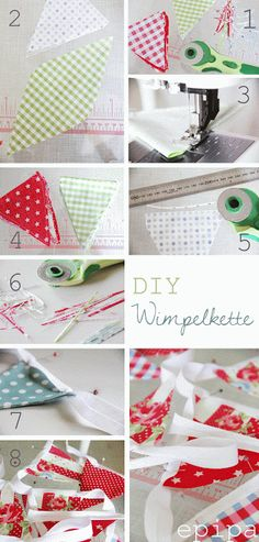 epipa: DIY Wimpelkette