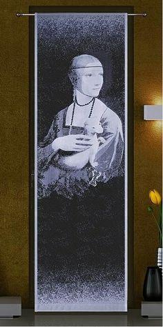 Panel gotowy Dama z łasiczką pędzla Leonarda da Vinci
