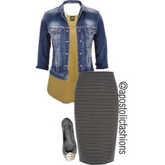 A fashion look from January 2016 by apostolicfashions featuring Angie, maurices, River Island, Tory Burch, women's clothing, women's fashion, women, female, wom...