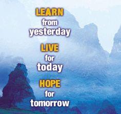 Hidup harus optimis !