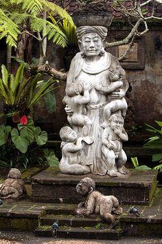 www.villabuddha.com  Bali  Men Brayut, the legendary Ibu (mother) of Bali.
