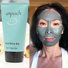 Our Glacial Marine Mud mask: deposits more than 50 skin beneficial minerals and trace elements to nurture the skin, extracts impurities, softens and purifies. #NuSkin