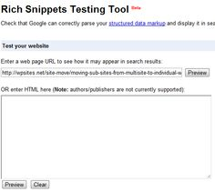 Using Google's Rich Snippet Testing Tool To Verify Author Ownership Of Your Blog Posts