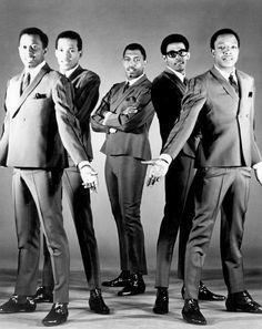 Eddie, David, Paul, Melvin and Otis