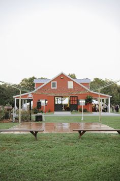 Picture perfect farm residence for wedding day festivities.