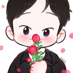 Exo Cartoon, Cartoon Art, Exo For Life, Chibi, Exo Fan Art, Xiuchen, Anime Dolls, Kpop Fanart, Baekhyun