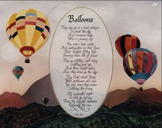 Poem about balloons