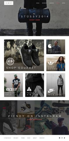 ICNDY – E commerce Clothing Web Template