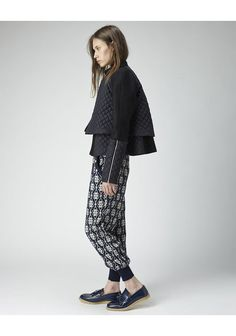 Suno Quilted Jacket