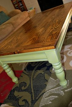 Refurbished Coffee TableI Would Make The Top A Distressed Black And