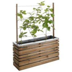 Bac treillis bois autoclave LIGN Z 100 x 50 cm … - Achat / Vente jardinière - pot fleur Bac treillis bois autoclave… - Soldes* d'été Cdiscount