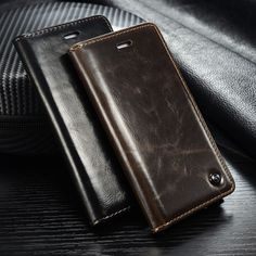 CaseMe Luxury magnet Leather Case For Apple iPhone 6S 6 6S plus 6 plus 5S SE Stand Wallet Flip Leather Phone Cover