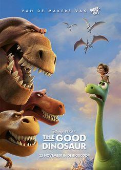 In de nieuwe Disney Pixar-film #TheGoodDinosaur zijn de rollen volledig omgedraaid: de dinosaurussen zijn het meest intelligente ras op aarde. #movie